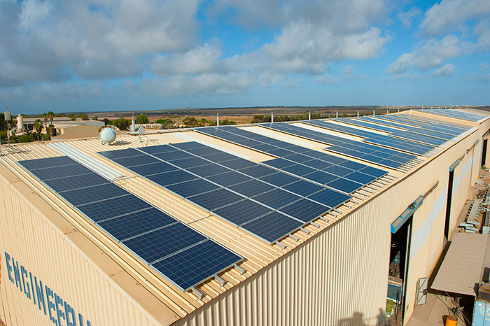Commercial Solar Case Study Manufacturer Diab