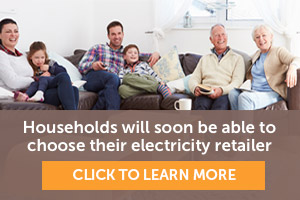Households will soon be able to choose their electricity retailer