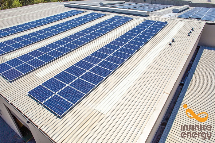 Plas-pak 100kW solar