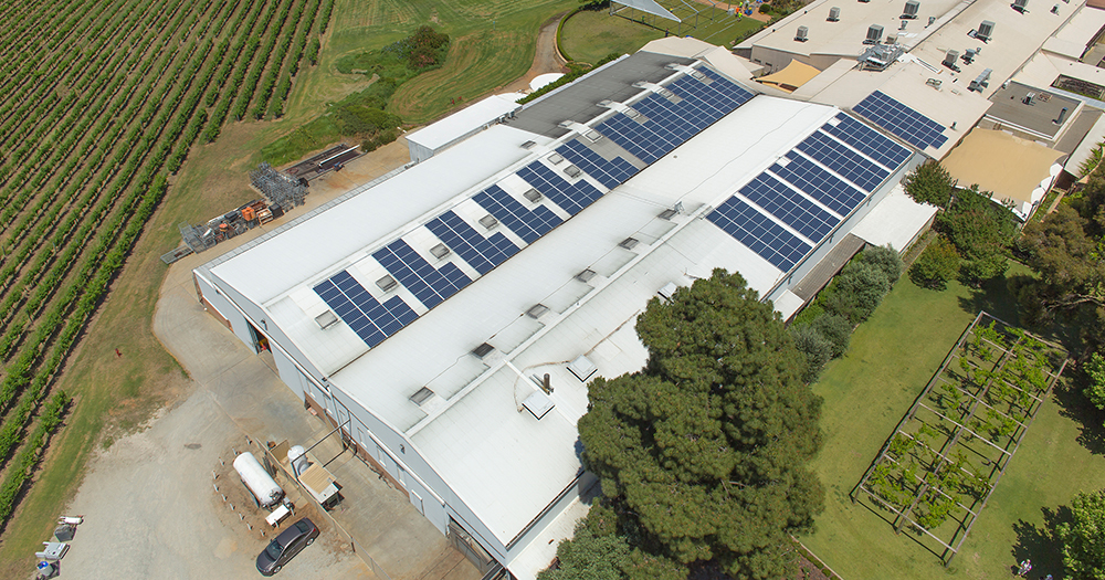 sandalford winery solar system