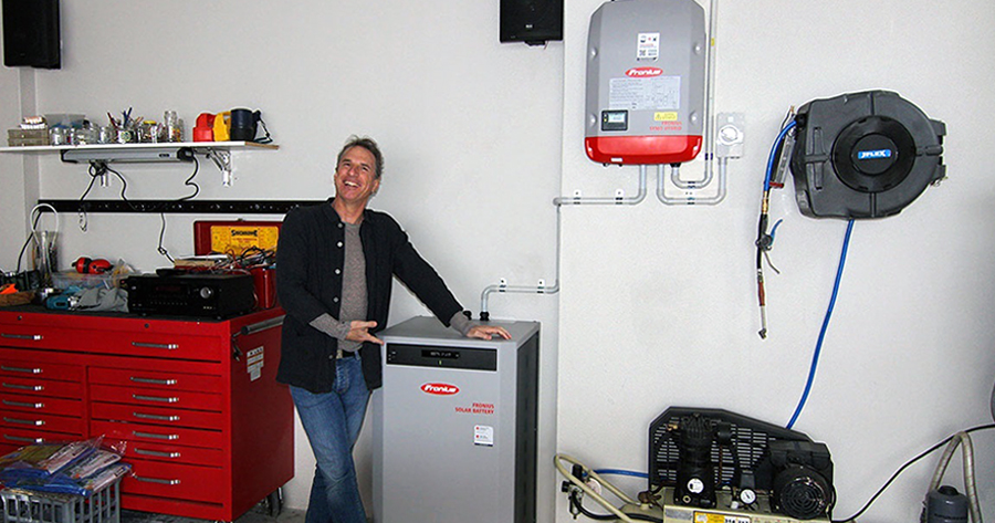 Home Solar Battery System
