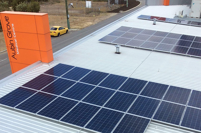 Aubin Grove Medical Centre 20kW Solar