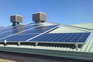 Chapman Animal Hospital 9kW Solar