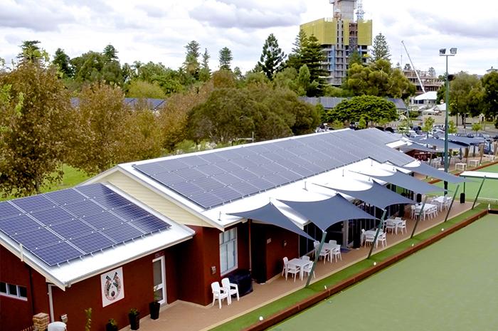 South Perth Bowling Club 30kw Infinite Energy