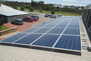 Woodvale Baptist Church 13kW Solar
