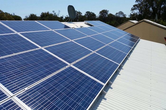 Brookside Accommodation Solar 8kW