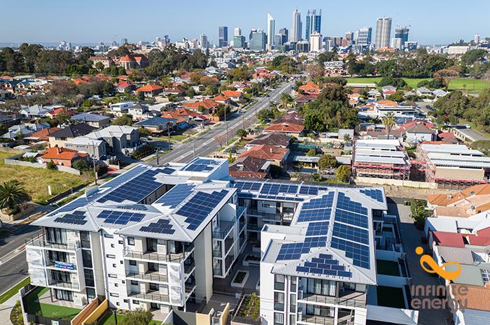 Meridian Apartments 124kW Solar