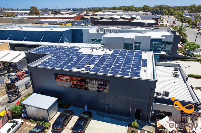 Cheeky Brothers Solar 40kW