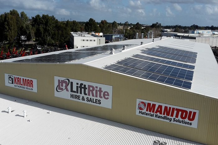 LiftRite 100kW Solar