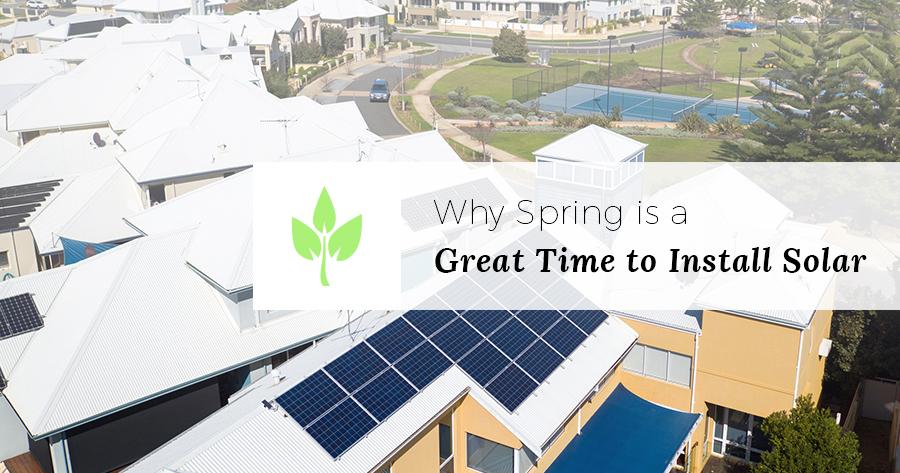 install solar in spring