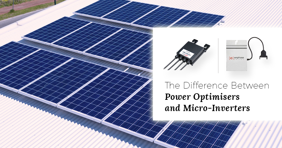 micro inverters solar optimisers