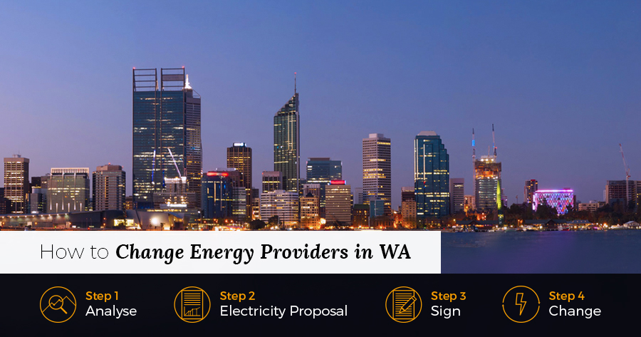 How to change energy providers in WA