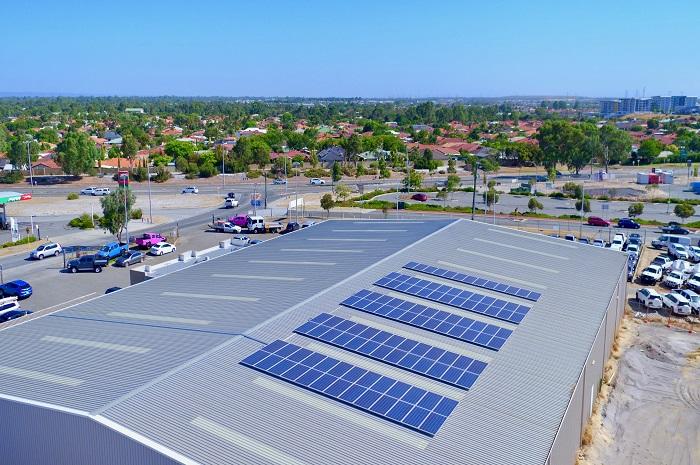 Cockburn Central 40kW Solar