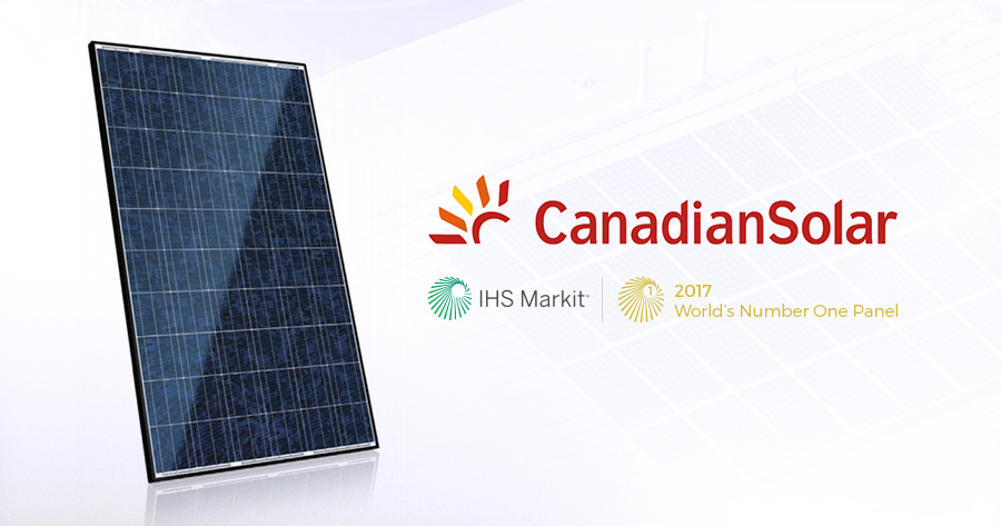 Canadian Solar Award