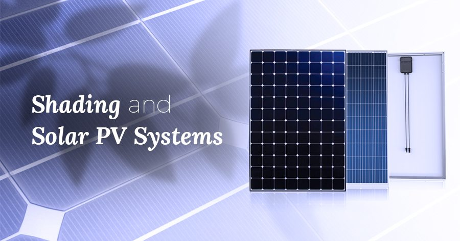 shading solar PV systems