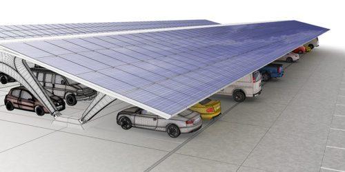 solar car park perth