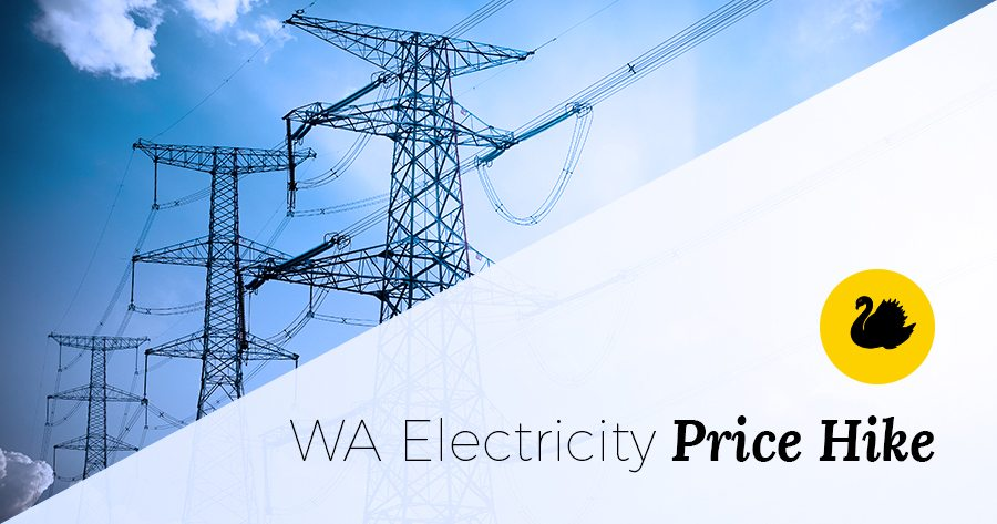 wa electricity prices
