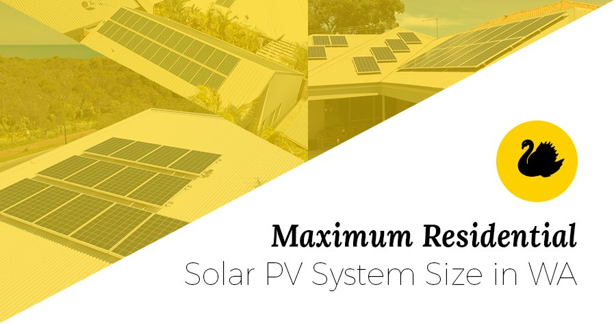 maximum inverter size WA