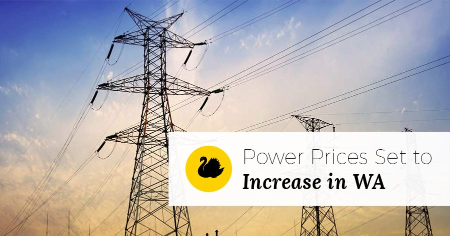 WA Power Price Increases