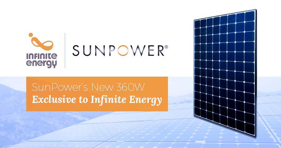 SunPower 360W Panel
