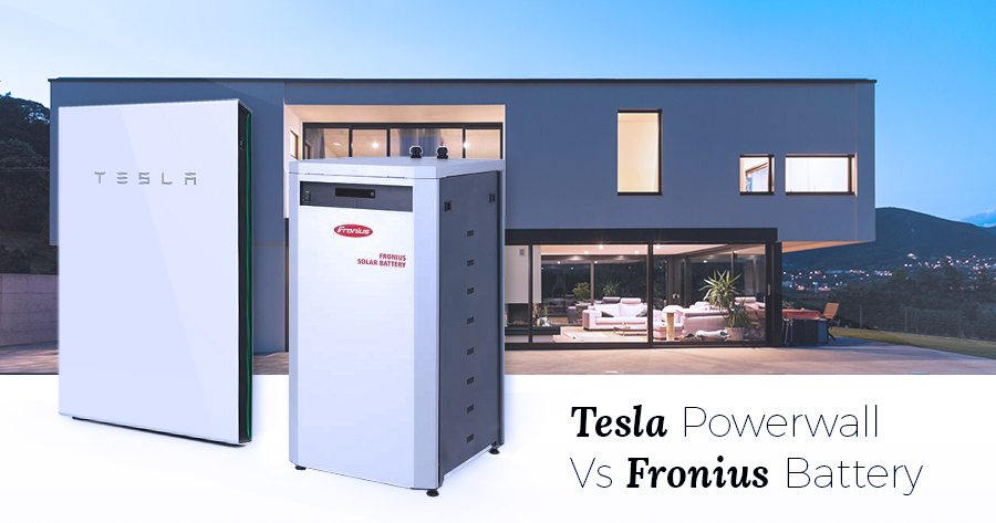 Fronius Battery vs Powerwall 2