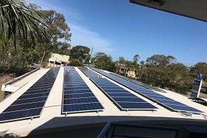 Birkdale Place 32kW Solar