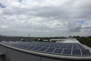 Metromatics 35kW Solar PV System