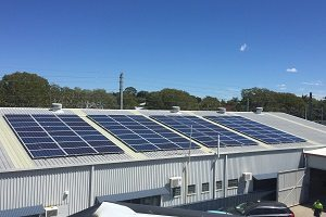 Toombul Paint & Panel 50kW Solar