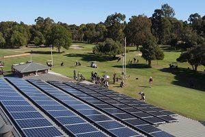Melville Glades Golf Club 40kW Solar