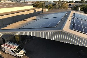 Quality Blast and Paint Solar 40kW