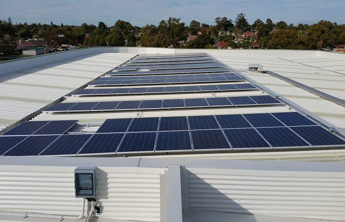 Warwick Stadium Solar 100kW