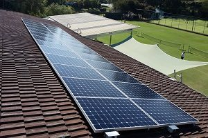 City Beach Tennis Club 9kW Solar