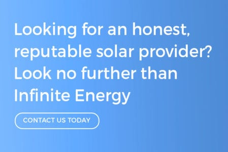 Looking for a reputable solar company? Look no further than Infinite Energy