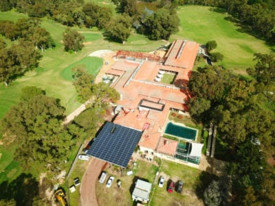 Karrinyup Country Club Solar Installation