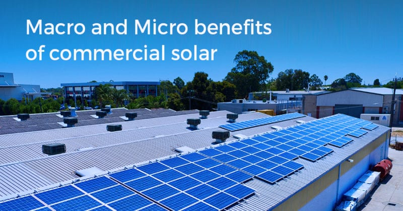 Macro and Micro Benefits of Commercial Solar | Infinite Energy