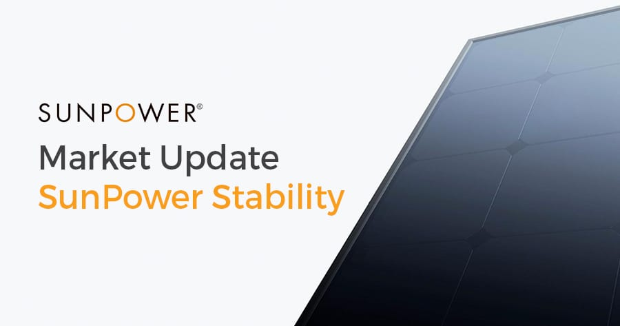 Sunpower Market Update